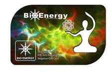 3x AUTHENTIC anti radiazioni bioenergia QUANTUM scienza scalari energia ION CARDS