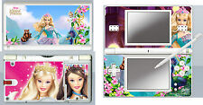 nintendo DS Lite - BARBIE PRINCESS - 4 Piece Decal Sticker Skin