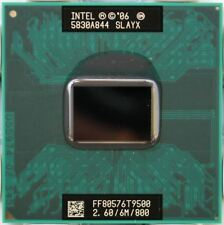 NEW! Intel Core 2 Duo T9500 SLAYX 2.6 GHz 6M send worldwide for PM965/GM965 chip