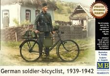Masterbox  MB35171 German Soldier on Bike 1:35 Plastic Figures Model Kit