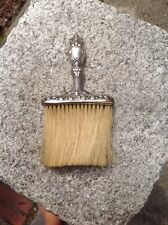 Exquisite Antique  Sterling Silver Brush
