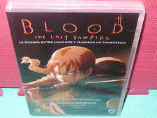 BLOOD - THE LAST VAMPIRE-  ANIME - MANGA