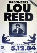 "Lou Reed German 16"" x 12"" Photo Repro Concert Poster"