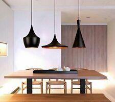 Set de trois Suspensions lampes pendant light design Tom Dixon