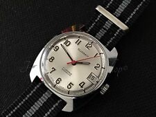 Excellent vintage Swiss date  watch Summit  17 jewel 1976 fully serviced & timed