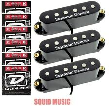 Seymour Duncan Classic Stack Plus STK-S4 Black Set ( 6 SETS OF STRINGS ) Strat