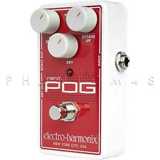 Electro-Harmonix Nano POG Polyphonic Octave Generator Guitar Effects Pedal NEW