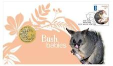 2013 Australia Bush Babies II Brush-Tailed Possum $1 - PNC Stamp & Coin Cover