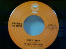 """EDGAR WINTER GROUP """"FREE RIDE / WHEN IT COMES"""" 45 MINT"""