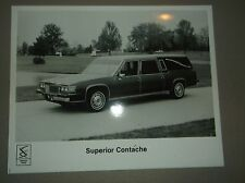 1987 Superior Funeral Coach Hearse Cadillac Chassis Brochure B&W Photo