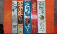 A Song of Ice and Fire (Game of Thrones) Hardcover Books 1-5