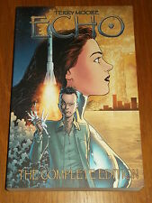 ECHO COMPLETE EDITION ABSTRACT STUDIO TERRY MOORE GRAPHIC NOVEL 9781892597489