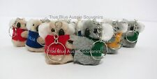 24x Australian Souvenir Koala Keyring Clip-On Key Ring