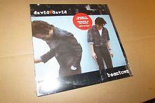 DAVID + DAVID boomtown US ORIGINAL LP mint SEALED hype sticker
