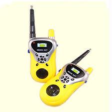 2 unidades Mini Walkie Talkie Niños Electrónica Juguetes Portátil dos vías