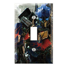Transformers  Decorative Single Toggle Light Switch Wall Plate Cover TR01A
