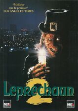 AFFICHE PROMO VIDEO CLUB--LEPRECHAUM 2--
