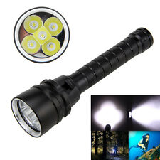 15000Lm XM-L T6 LED Underwarter 100m Scuba Diving Flashlight Torch 18650 lamp