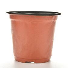 10PCS Plastic Plant Flower Pot Nutritional Nursery Containers Mini Garden Decor
