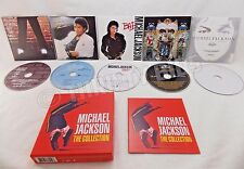 Michael Jackson The Collection 5 CD Box Set 2009 Off the Wall Thriller Bad