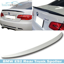 HIGH KICK BMW E92 Coupe P-Look 07-13 Painted Rear Trunk Spoiler #300 White