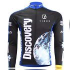 Men's Sportwear Cycling Jersey Bike Bicycle Long Sleeve Cycling Clothing Top