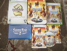 Saints Row 2 Collector's Edition (XBOX 360)  Free Shipping