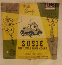1952 Walt Disney Susie the Little Blue Coupe Sterling Holloway Jimmy Carroll