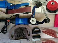 Pipe Polisher pipe tube sander 30 Belt 3 cup brush also grinder belt fit metabo