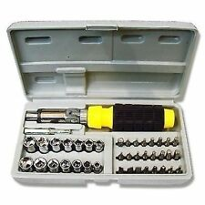 High Quality 41 in 1Pc Tool Kit Home Car Ratchet Screwdriver Set Office PC.