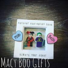 Harley Quinn Joker Lego marco Día de San Valentín Regalo Presente Novia Novio