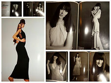 Carla Bruni vintage clippings 1993 Vogue Italia by Steven Meisel fashion ads