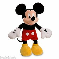 "New Disney World Parks Original Mickey Mouse 18"" Plush Toy Doll"