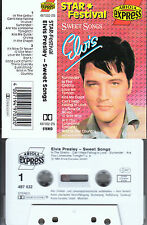 ELVIS Presley - Sweet Songs ★ MC Musikkassette Cassette *weiss