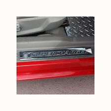 05-13 Mustang Billet Door Sill Set Show Quality Satin Finish Supercharged