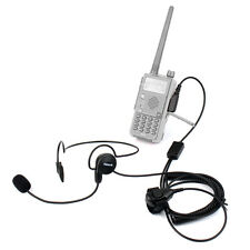 2 Pin Earpiece Mic Finger PTT Headset for Kenwood BAOFENG UV-5R 777 888s Radio