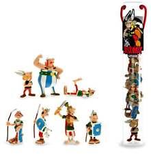 Tubo 7 figurines Astérix Obélix et les romains en bataille PLASTOY