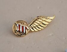 DAN AIR Airways Airline wings cabin crew  pin badge metal  DANAIR