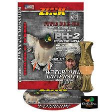 NEW ZINK CALLS PH-2 POWER HEN BLADES CAMO POLY MALLARD HEN DUCK CALL & DVD