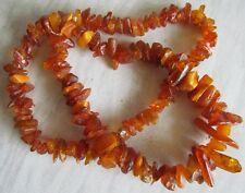 BALTIC SEA AMBER NECKLACE 93 Grams OLD AMBER NECKLACE