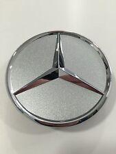 Mercedes-Benz Radnabenabdeckung für Alufelgen in Silber mit Stern in Chrom