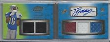 TITUS YOUNG 2011 TOPPS PRIME LEVEL II (2) 5 PIECE PATCH AUTO BOOK RC #D 7/15