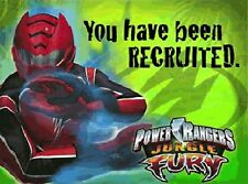 POWER RANGERS JUNGLE FURY INVITATIONS Cards Birthday Party Child Boys Kids NEW