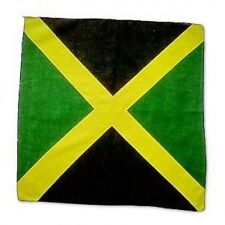 NEW UNISEX FANCY DRESS RASTA STYLE JAMAICA FLAG REGGAE BANDANA NECK SCARF BIKER