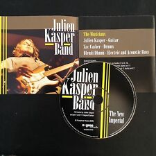 JULIEN KASPER BAND: THE NEW IMPERIAL  US Import CD  Blues/Rock guitar