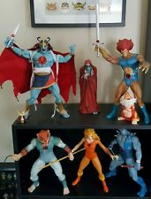 Mezco Thundercats Full Set Loose Complete SDCC Mumm-Ra and Cheetara