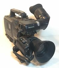 PANASONIC DVC Pro Broadcast Video Camera AJ-D410AP/VF10P/Fujinon