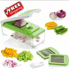 Onion Slicer Dicer Vegetable Cutter Kitchen Food Chopper Potato Container Fruit