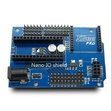 NANO IO Shield Prototype I/O Expansion Board with XBee 24L01 Interface Arduino