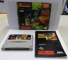 Console Game Gioco SUPER NINTENDO SNES 16 BIT Play JUNGLE STRIKE SNSP-AJGP-EUR